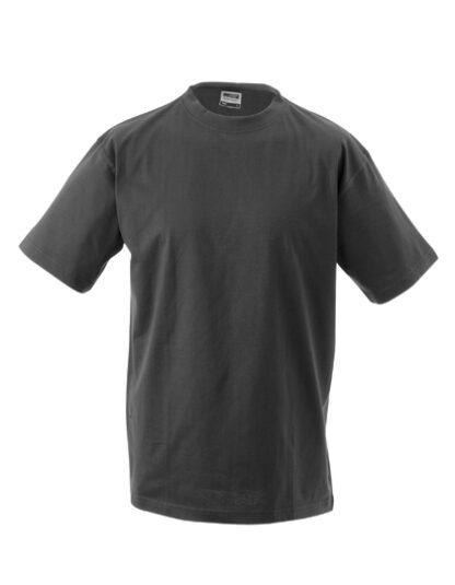 Rundhals T-Shirt graphit
