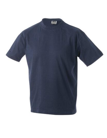 Rundhals T-Shirt navy