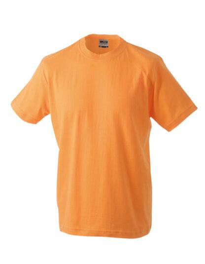 Rundhals T-Shirt orange