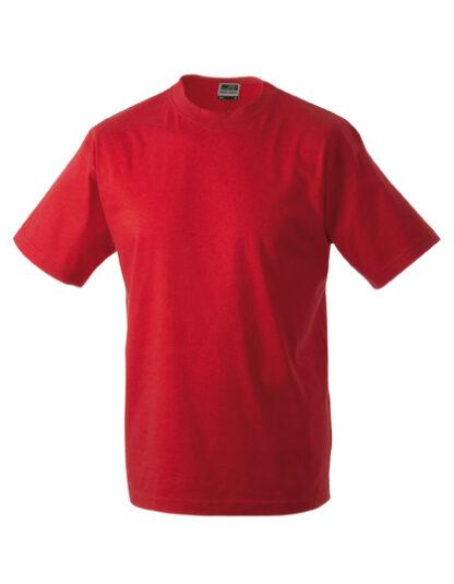 Rundhals T-Shirt rot