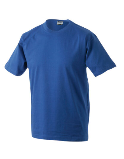 Rundhals T-Shirt royalblau