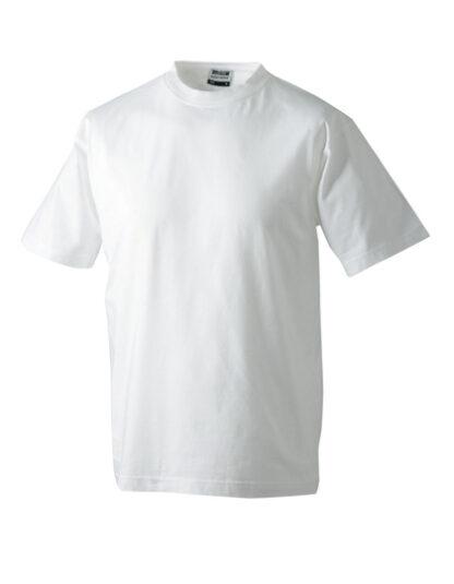 Rundhals T-Shirt weiß