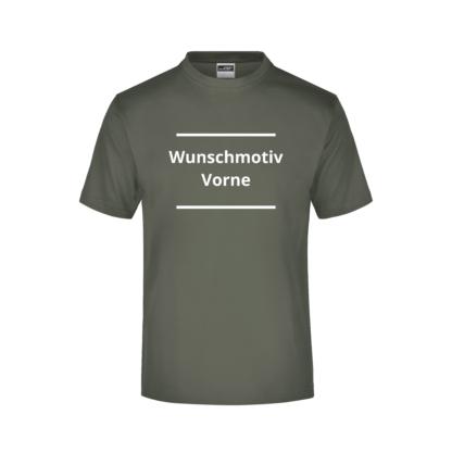 T-Shirt Druck vorne