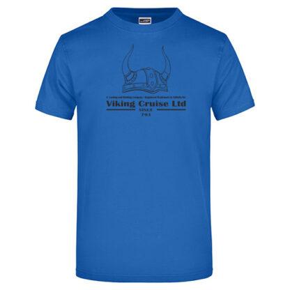 T-Shirt Viking Cruise royalblau