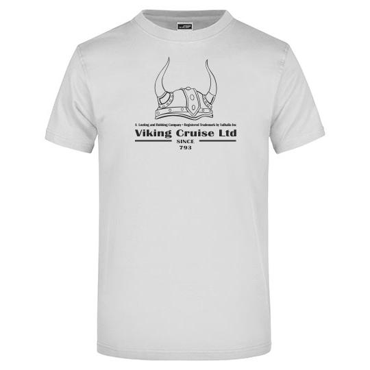 T-Shirt Viking Cruise hellgrau