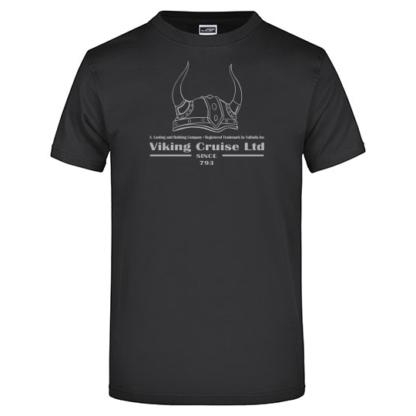 T-Shirt Viking Cruise schwarz