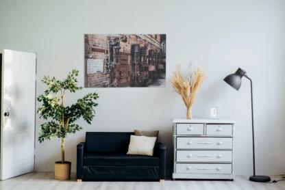 Leinwand Kohlekraftwerk Kessel im Wohnzimmer