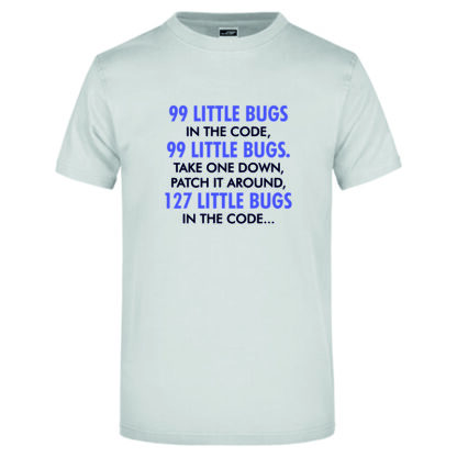 99 Bugs hellgrau