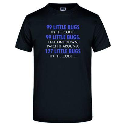 99 Bugs schwarz